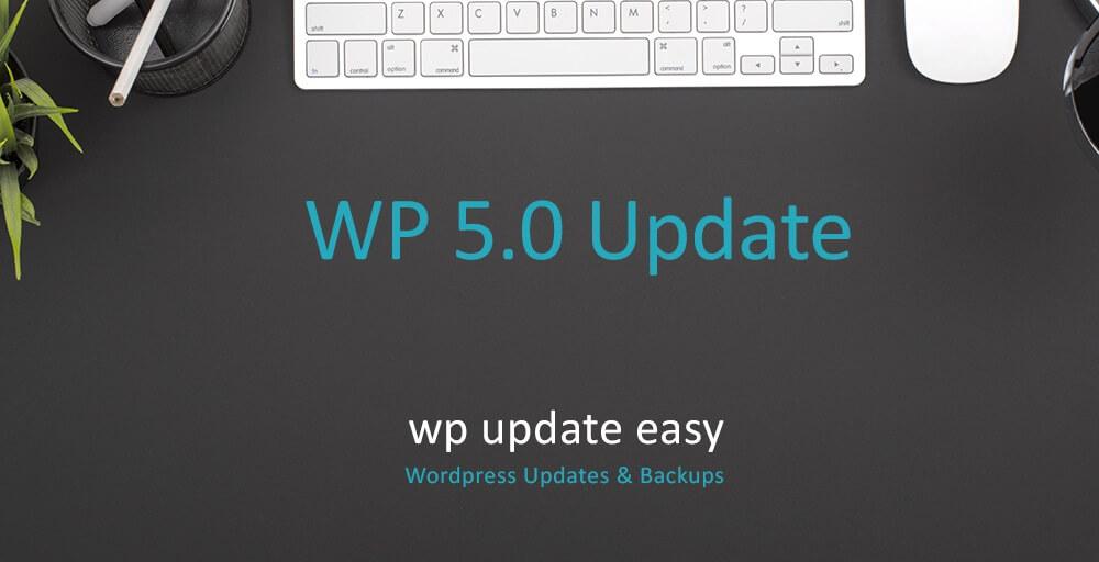 WP 5.0 Release Datum steht fest