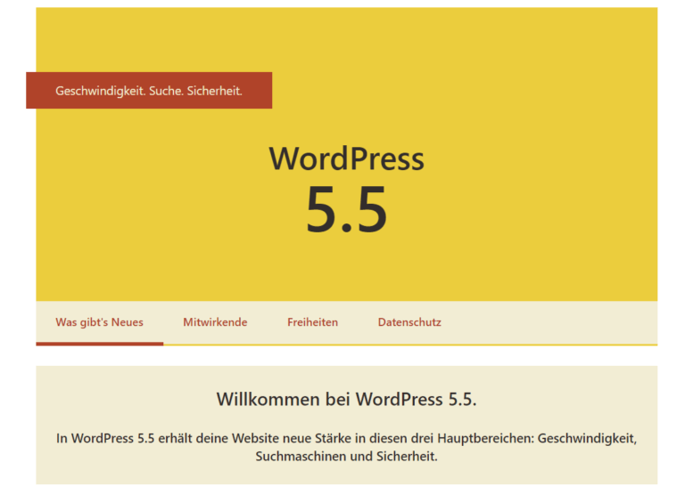 Wordpress-5.5