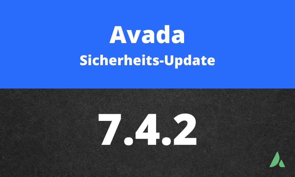 Avada-Sicherheitsupdate-7.4.2